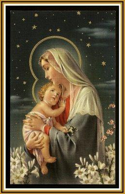 889 May 27 Mary, Jesus, Stars
