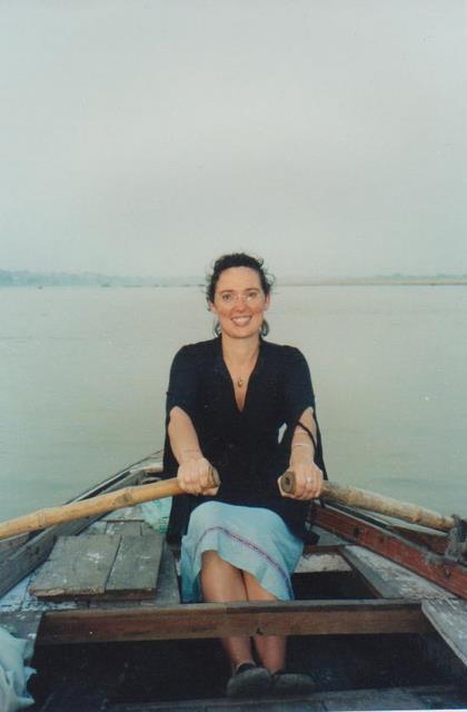 Katie at Varanasi 2005 002